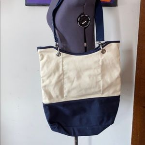 Canvas crew by 31 tote